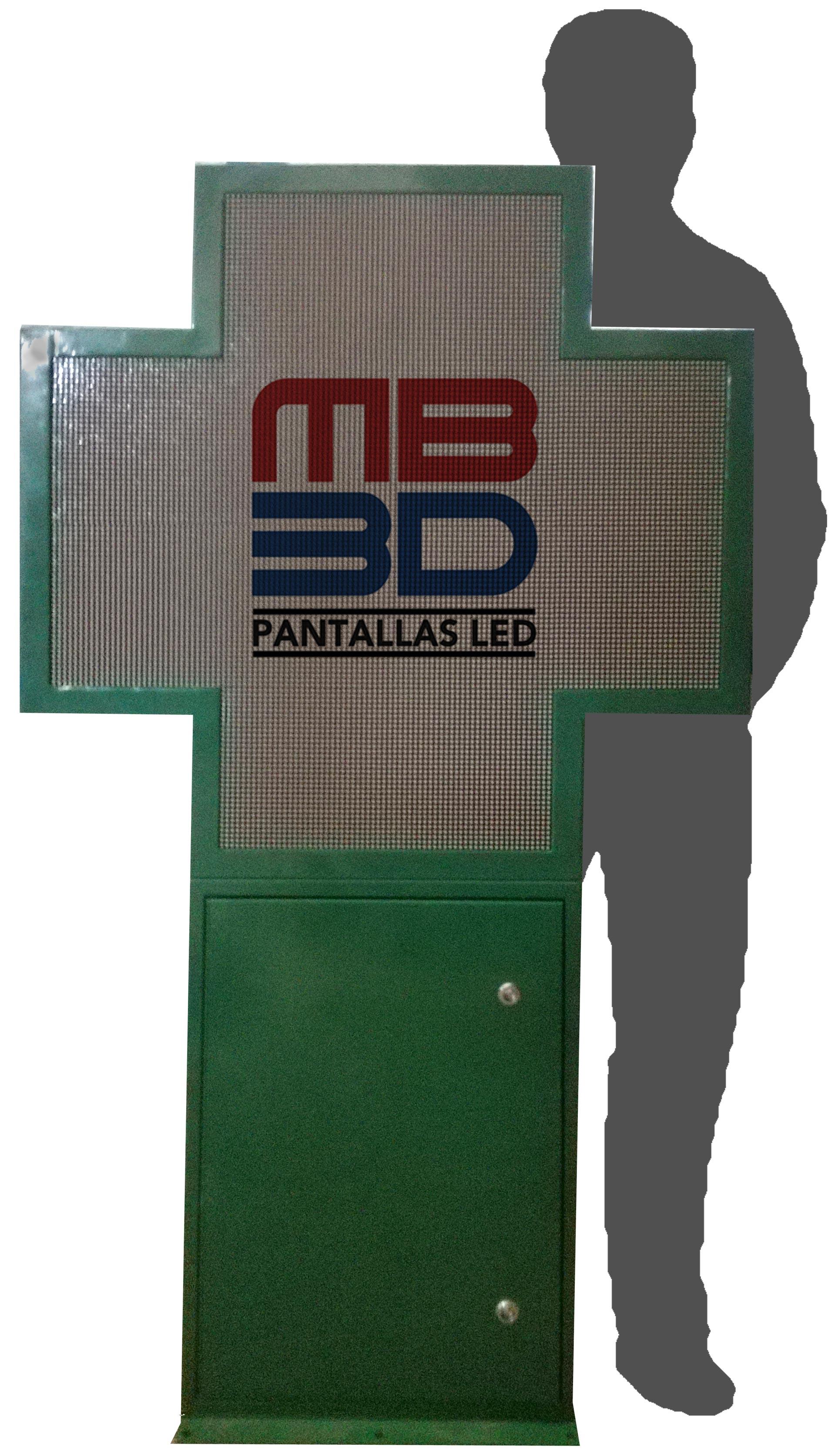 CRUZ DE FARMACIA FULL COLOR P8XXL 103x103cm